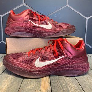 Nike Zoom Hyperfuse Low Red Basketball Size 16